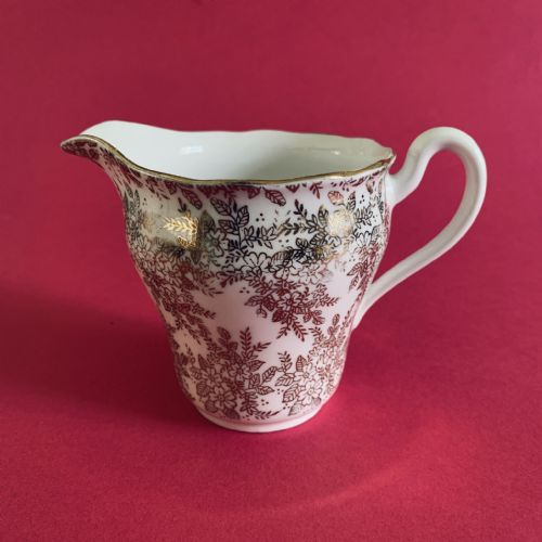 Royal Vale | Milk Jug Creamer | Gold Chintz
